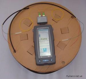 Ejemplo de Medición con Certificador de Fibra Óptica