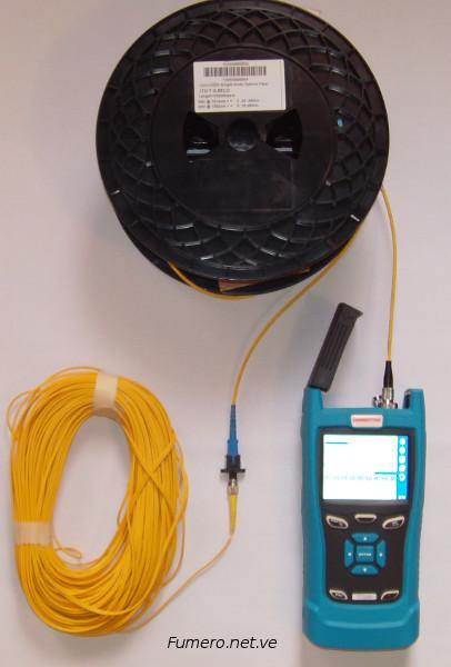 Tramo corto de Cable de Fibra Óptica para Medición con el OTDR