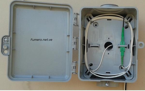 Caja de Inteconexión Residencial, planta externa.