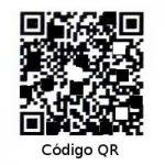 Ejemplo de Código QR para la descarga de un Software.