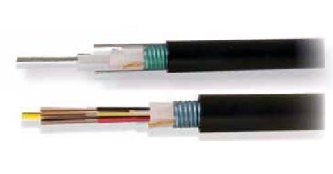 Cable de fibra óptica para exteriores