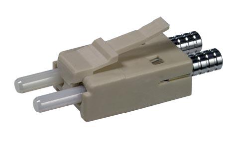 Conectores EM-RJ de fibra óptica