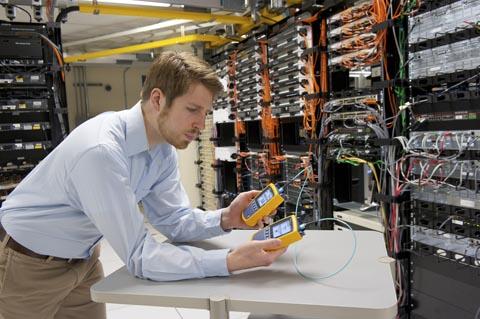 Soluciones de medida de fibra óptica en Data Centers