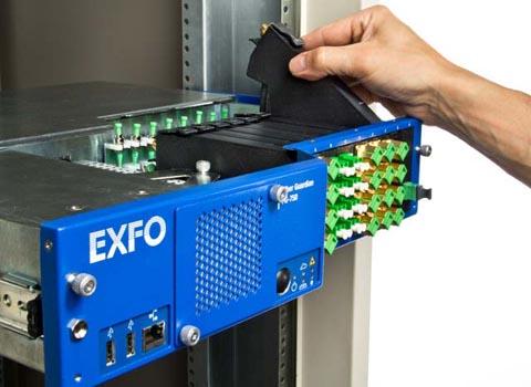 Unidad de test remoto con OTDR