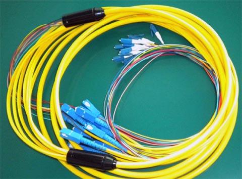 Cable breakout preterminado