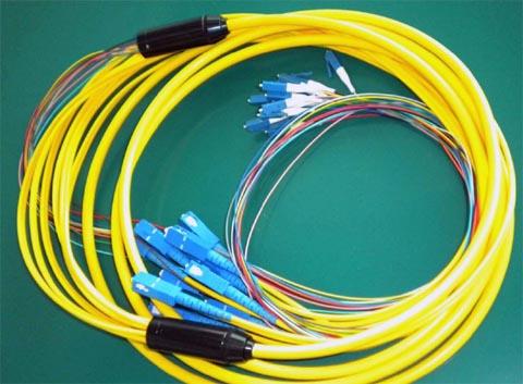 Cable táctico de fibra óptica