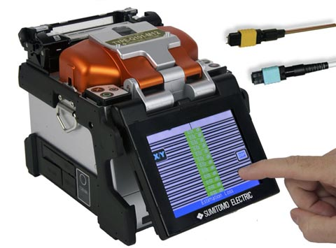 Fusionadora multi-fibra para conectores MPO