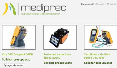 Alquiler de equipos de fibra óptica para instaladores