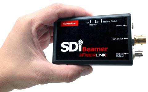 Enlace de fibra óptica 3G-SDI
