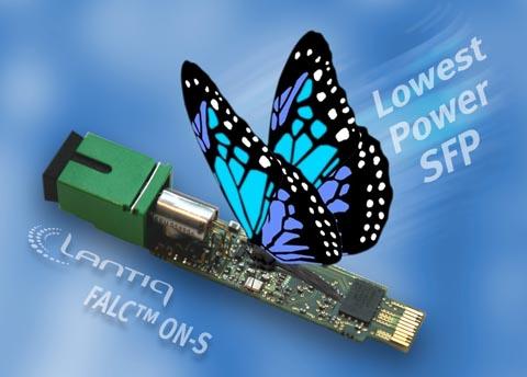 SoC GPON de bajo consumo para módulos óptico SFP