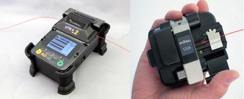 Kit para instaladores con fusionadora y cortadora