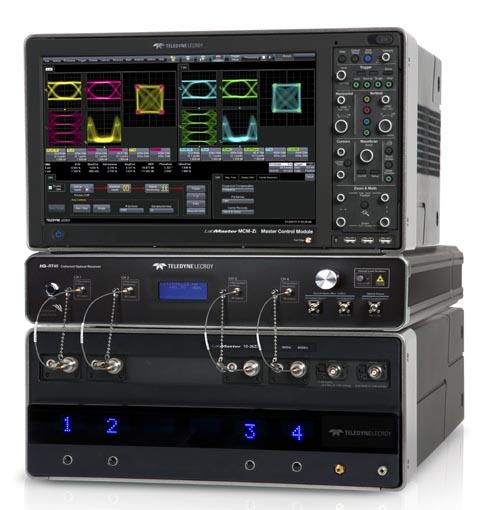 Analizador de modulación óptica de 45 GHz