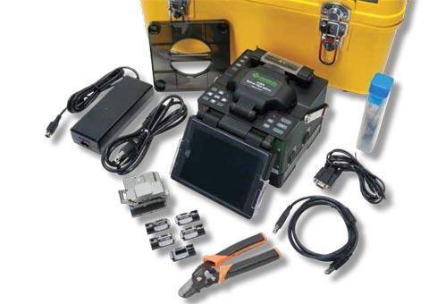 Fusionadora óptica para interiores y exteriores