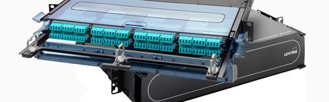 Sistema de enclosure de fibra óptica de elevada densidad