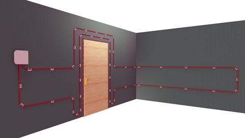 Detector óptico para paredes y techos