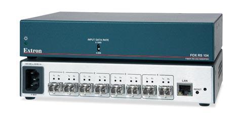 Extensor de RS-232 por fibra óptica