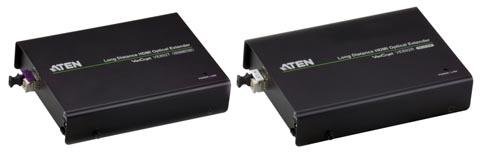 Extensores HDMI por fibra óptica