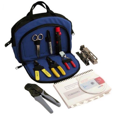 Kit para terminación de fibra óptica