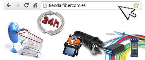 Nueva tienda online para fibra óptica
