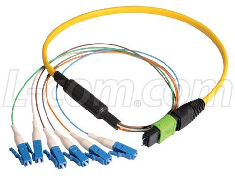 Latiguillos de fibra Ribbon monomodo