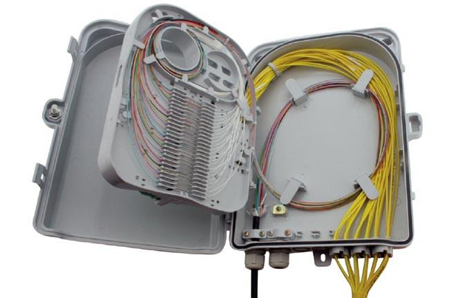 Caja de distribuci n para 24 fibras for Caja de distribucion