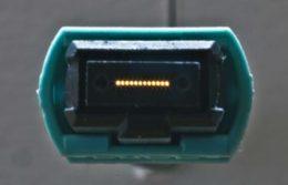 Figura 8 Disposición de fibras en un MPO Hembra