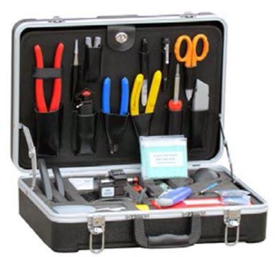 Kit para empalmar fibra óptica
