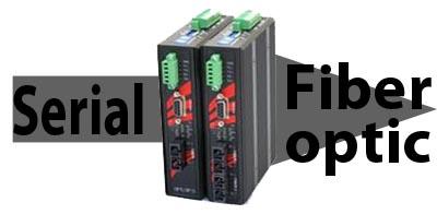 Convertidores serie a fibra