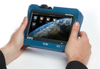 OTDRs portátil en formato Tablet