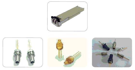 Figura 9 La mayoría de los módulos SFFP cuentan con conectores LC o SC
