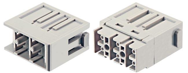 Conectores de fibra óptica LC modulares
