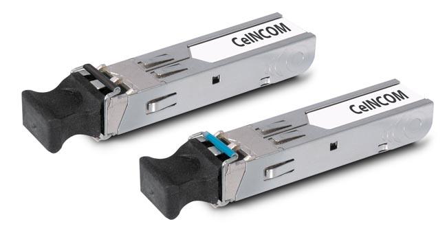 Módulos ópticos SFP miniGBIC