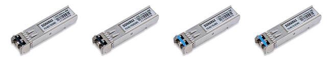 Transceptores de fibra SFP