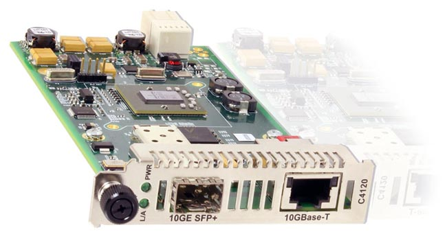 Conversor de medio para el estándar 10GBase-T