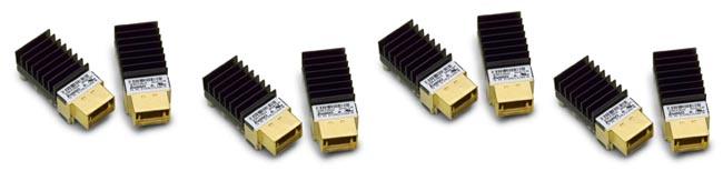Módulos de transmisión y recepción de doce canales