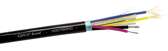 Cable híbrido para cámaras SMPTE