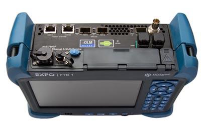 """Módulo de pruebas ópticas y Ethernet """"todo en uno"""""""