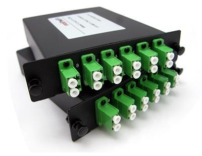 Solución plug and play de fibra óptica MTP