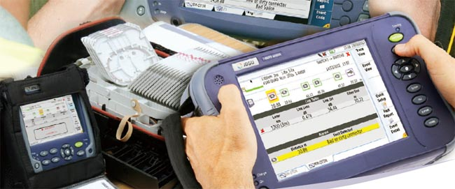 Aplicación Smart Link Mapper para test en OTDR