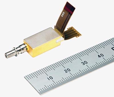 Transmisor con cuatro longitudes de onda