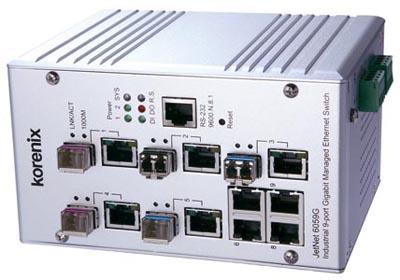 Switch gestionable de fibra
