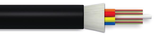 Cable dieléctrico de 24 fibras ópticas