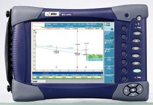 Plataforma OTDR para pruebas