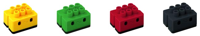 Modelos de microchips dS para unir fibra óptica de plástico