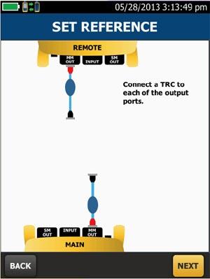Figura 3: Para manejar referencias pobres, los vendedores de equipamiento de test están creando asistentes automáticos para dirigir al técnico a través del proceso de referencia.