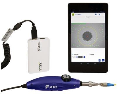 Inspección de conectores por Wi-Fi
