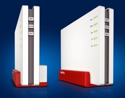 FRITZ!Box 4080 router Gigabit para fibra óptica