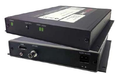 Conversor HDMI a fibra óptica