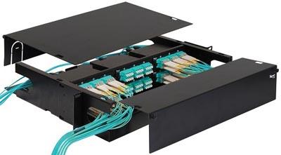 Armarios de fibra óptica para pared o rack