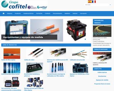 Web de cableado y fibra óptica